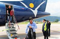 Deutsches Nationalteam fliegt mit InterSky ins Trainingslager