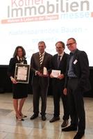 """Der 1. Kölner Immobilienpreis 2014 wird verliehen für das  """"Carlswerkquartier"""" der GAG Immobilien AG in Köln-Buchheim"""