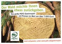 PEFC belohnt schlaue Käufer - Tipp zum Tag der Umwelt am 5. Juni 2014