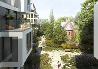 Grundsteinlegung für die Wohn-Oase TheGarden in der Berliner Chausseestraße