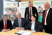 Olympiastützpunkte kooperieren mit Studiengemeinschaft Darmstadt und Wilhelm Büchner Hochschule