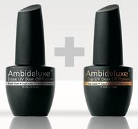 UV Nagellack Set Top & Base Coat - Jetzt NEU von Ambideluxe. Testen Sie den Nagellack der die Vorteile von normalem Nagellack und UV Gel kombiniert. Mit Anleitung bzw. Beschreibung zur Anwendung