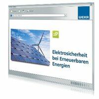 """WEKA MEDIA bietet die Onlinelösung: """"Elektrosicherheit bei Erneuerbaren Energien"""""""