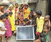 Seit Jahresbeginn bereits 100 Solar-Anlagen für Bangladesch