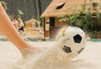Fußball WM 2014: Brasilianische Stimmung im Tropical Islands