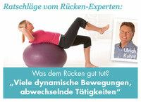 Medipresse Spezial: Ratschläge bei Rückenschmerzen