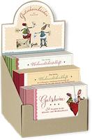 Silke Leffler illustriert Weihnachts-Gutscheinhefte für den Grätz Verlag