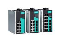 Robuster Industrial Ethernet Switch bringt Netzwerke auf Gigabit-Geschwindigkeit