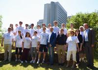 Trainieren mit dem Profi: Campus Heusenstamm macht Gymnasiasten fit für den Kirchenlauf