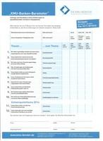 KMU-Banken-Barometer: Umfrage und Selbstcheck für Mittelständler