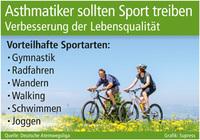 Asthmatiker sollten Sport treiben