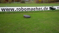 Rasenroboter-Stadiontag in Allmendingen