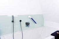 Der sichere Griff gibt Halt in Wanne und Dusche