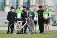 "Die große ""Glückstour"" endet am 30. Juni nach 1.000 Kilometern in Berlin"