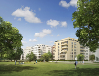 Richtfest für das Wohnprojekt Flottwell Living: Ein neues Stadtquartier am Park am Gleisdreieck entsteht. Eine weitere Brücke verbindet die City-West und die City-Ost.