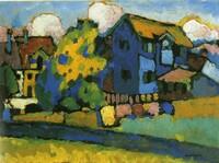 """Neue Sonderausstellung: """"Blaues Haus und Gelber Klang - Wassily Kandinsky und Alexej Jawlensky in Murnau"""""""
