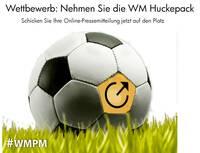 PR mit der Fußball-WM: Best Practice Online-Pressemitteilung