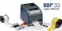 Brady BBP33: Ein Etikettendrucker mit umfangreichen Materialoptionen