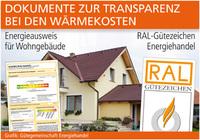 Energieausweis und RAL-Gütezeichen