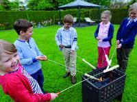 LEDA Werk: Grillen mit Kindern - Burger und Marshmallows stehen hoch im Kurs