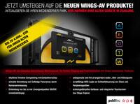 publitec nimmt Medienserver für aktuelle AV-Stumpfl Wings-Produkte in Zahlung