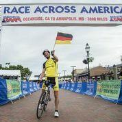 Stefan Schlegel wird erneut bester Deutscher beim Race Across America