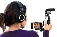 Besser Filmen mit Smartphone und DSLR-Kamera: MXL Mobile Media Videographers Essentials Kit liefert unterwegs Bild und Ton in Perfektion