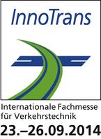 Micronex GmbH auf der internationalen Fachmesse für Verkehrstechnik- InnoTrans 2014 vom 23. bis 26. September 2014 in Berlin