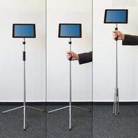 Innovative Neuentwicklung: Der Ultramobile Bodenständer für Tablets