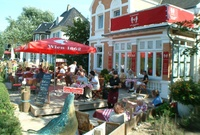 Ein Platz für Feinschmecker - Cafe Strandvilla
