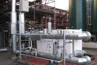 Energiemodul als stromerzeugende Druckreduzierstation bei ArcelorMittal Bottrop