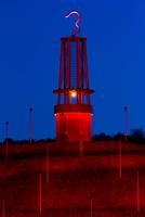 """""""Das Geleucht"""" strahlt im roten Licht"""