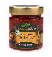 Mani Bläuel Produktneuheit: aromatische Tomatenpaste aus sonnengetrockneten Tomaten