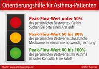 Orientierungshilfe für Asthma-Patienten