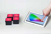 Control LEDs with smartphones and tablets