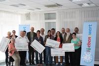 Stiftung PSD L(i)ebensWert spendet 25.000 Euro an zehn soziale Einrichtungen und Projekte im Saarland