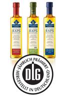 Teutoburger Raps-Kernöle für hohe Produktqualität von Deutscher Landwirtschafts-Gesellschaft e.V. ausgezeichnet