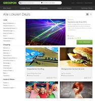 Groupon launcht Lifestyle-Marktplatz - Überarbeitete Website in neuem Design