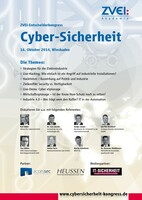 """ZVEI-Entscheider-Kongress """"Cyber-Sicherheit"""" für die Elektroindustrie"""