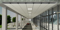 Fit for any weather - Standard Lindner Metal Ceilings in exterior areas