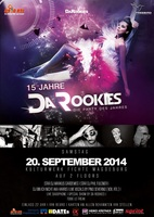 15 Jahre Da Rookies Festival - 20 September 2014 im Kulturwerk Fichte