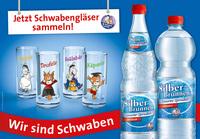 Schwäbisches Gläserset mit Äffle & Pferdle