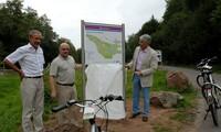 Erlebnisstrecke für grenzüberschreitendes Radfahren