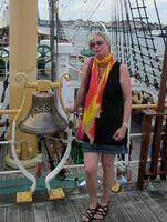 Brina Stein bei den Cruise Days in Hamburg vom 1. bis 3. August 2014