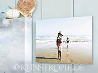 Urlaubsfotos kunstvoll inszeniert:   Erinnerungen auf Holz und Acryl oder als Ölgemälde
