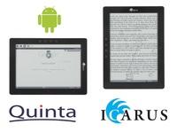 "Neuer Icarus eXceL 10"" eBook Reader mit offenem Android"