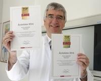 Focus Ärzteliste 2014:  Professor Grifka zum 7. Mal in der Focus-Bestenliste -  Wie ganz Ostbayern davon profitiert