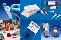 Laboretiketten und Etikettendrucker für die Laborprobenkennzeichnung