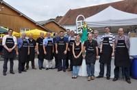showimage Salamander: Grillfest für die Mitarbeiter