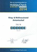 Hotel Antoniushof zählt zu den 100 besten Hotels in der Region